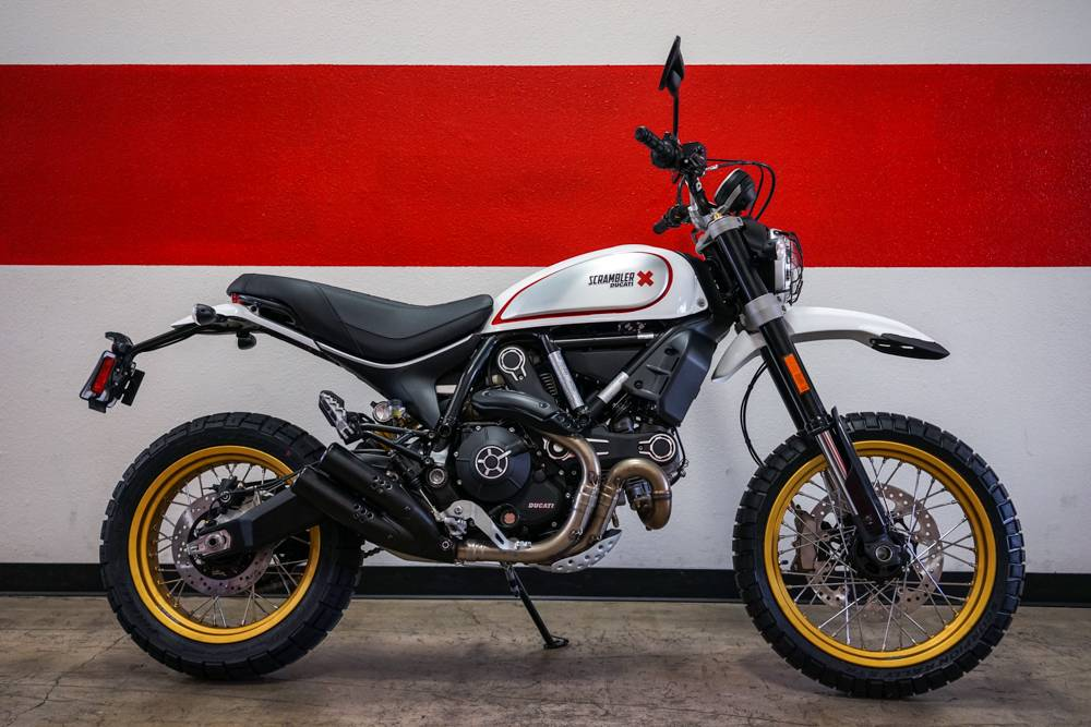 new 2018 ducati scrambler desert sled motorcycles in brea ca. Black Bedroom Furniture Sets. Home Design Ideas