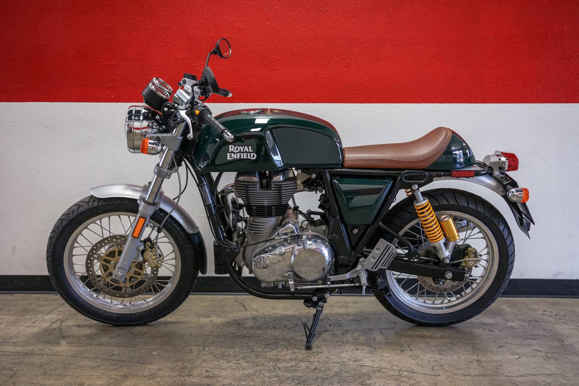 2017 Royal Enfield Continental GT in Brea, California - Photo 9