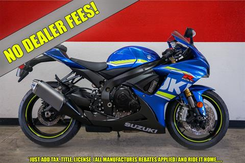 2018 Suzuki GSX-R750 in Brea, California