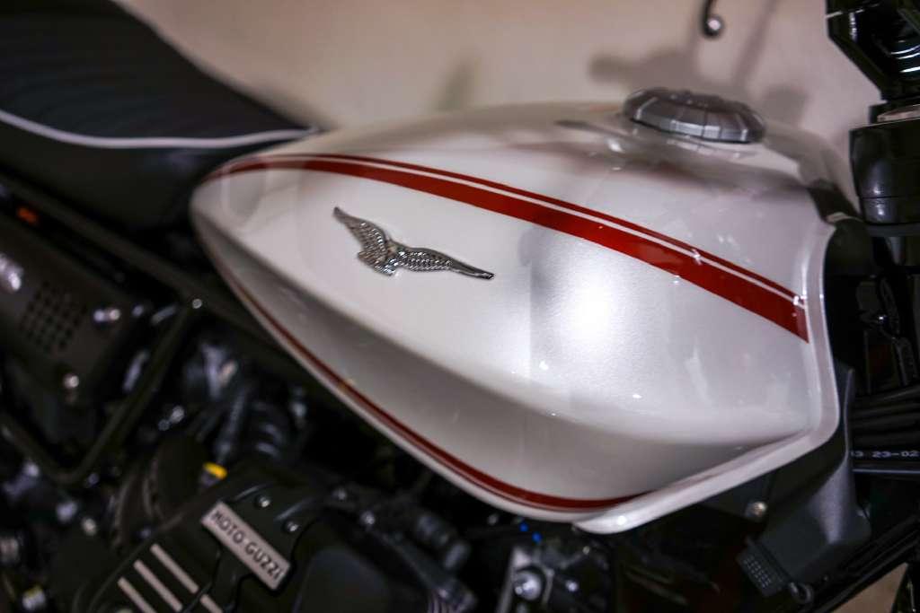 2017 Moto Guzzi V9 Roamer Bianco Classico in Brea, California