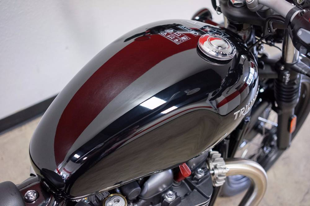 2017 Triumph Bonneville Bobber in Brea, California