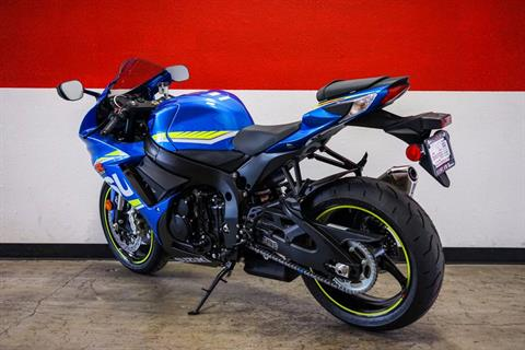 2017 Suzuki GSX-R600 in Brea, California