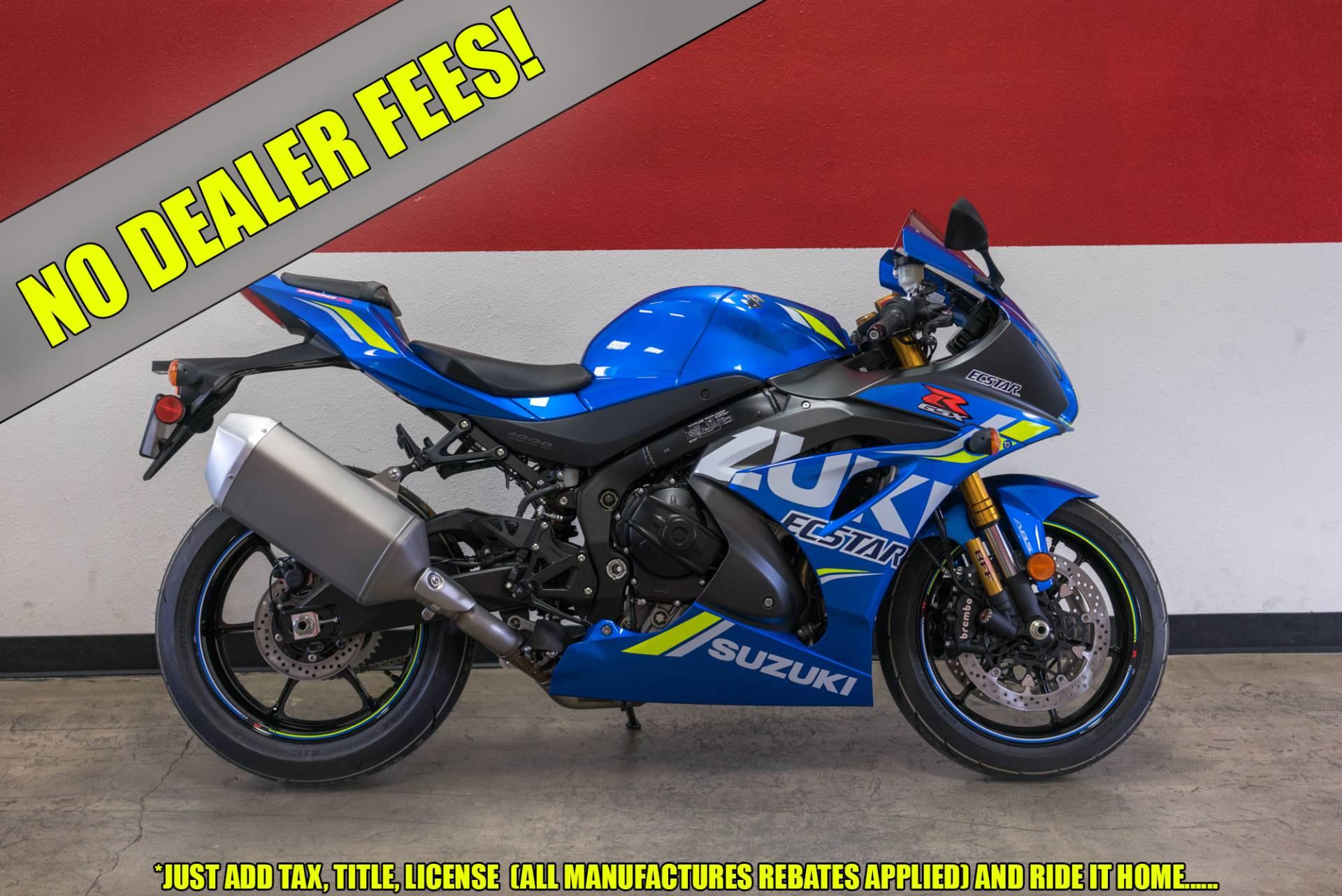 New 2018 suzuki gsx-r1000r motorcycles in brea, ca.
