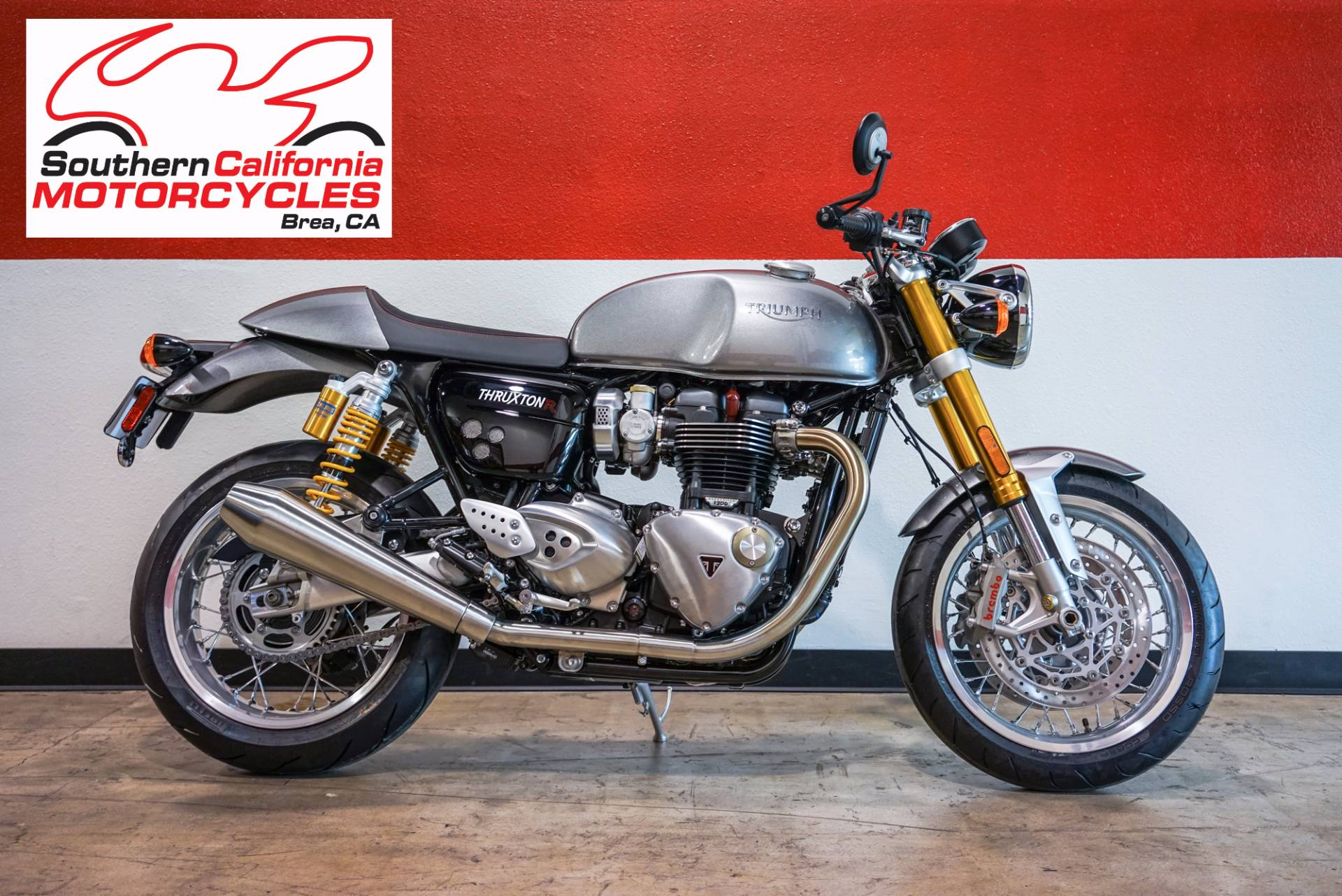 2017 Triumph Thruxton 1200 R in Brea, California