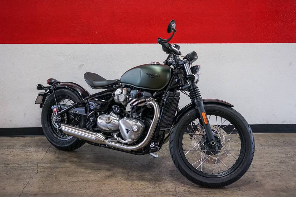 2019 Triumph Bonneville Bobber in Brea, California - Photo 7