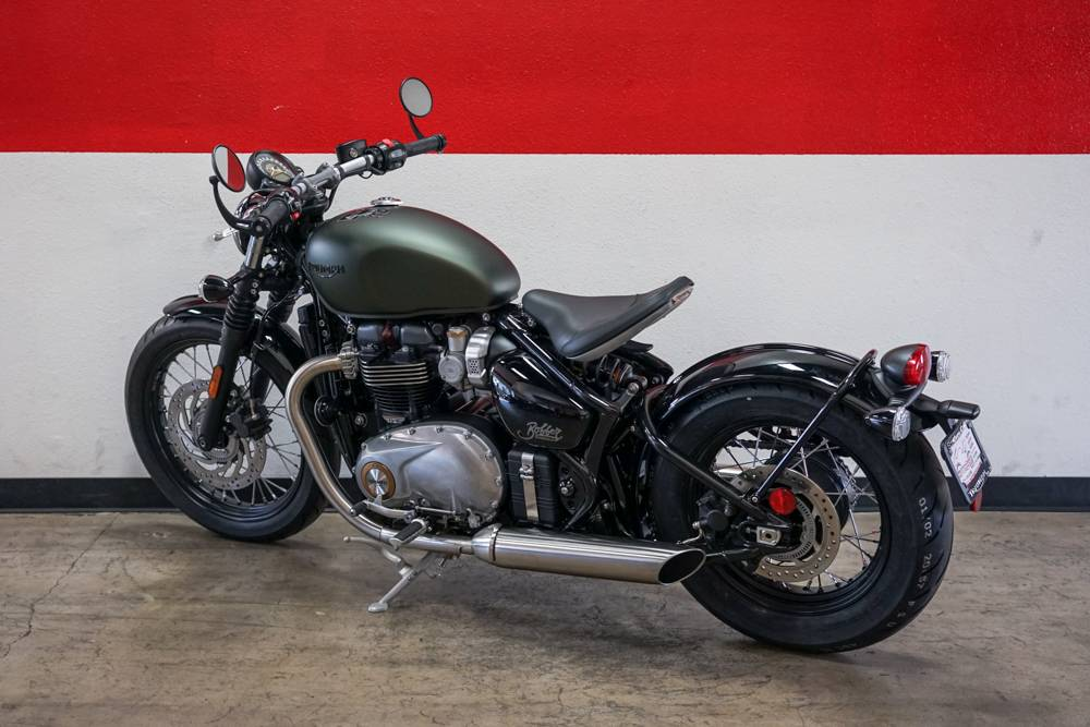 2019 Triumph Bonneville Bobber in Brea, California - Photo 12