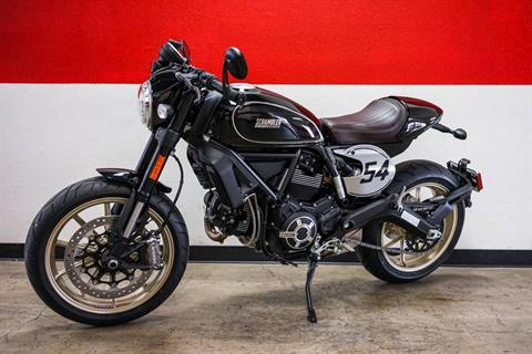 2018 Ducati Scrambler Cafe Racer in Brea, California