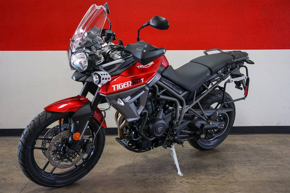 2017 Triumph Tiger 800 XRT in Brea, California
