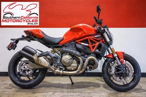 2016 Ducati Monster 821 in Brea, California