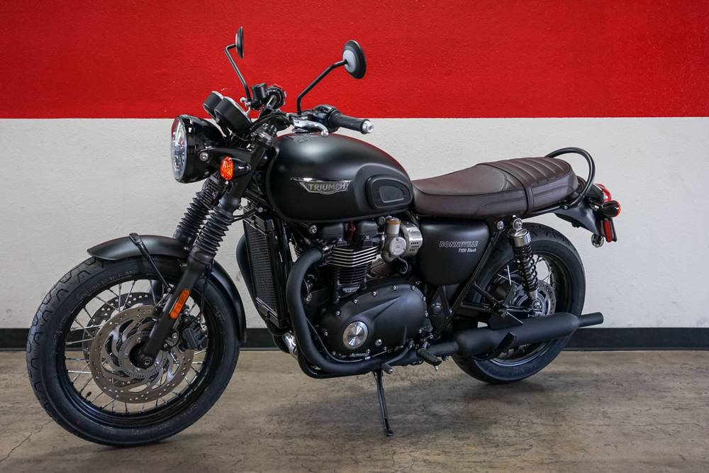 New 2019 Triumph Bonneville T120 Black Motorcycles In Brea Ca