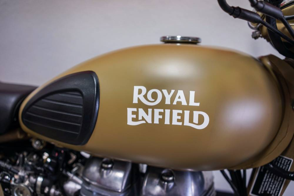 2017 Royal Enfield Classic Desert Storm in Brea, California