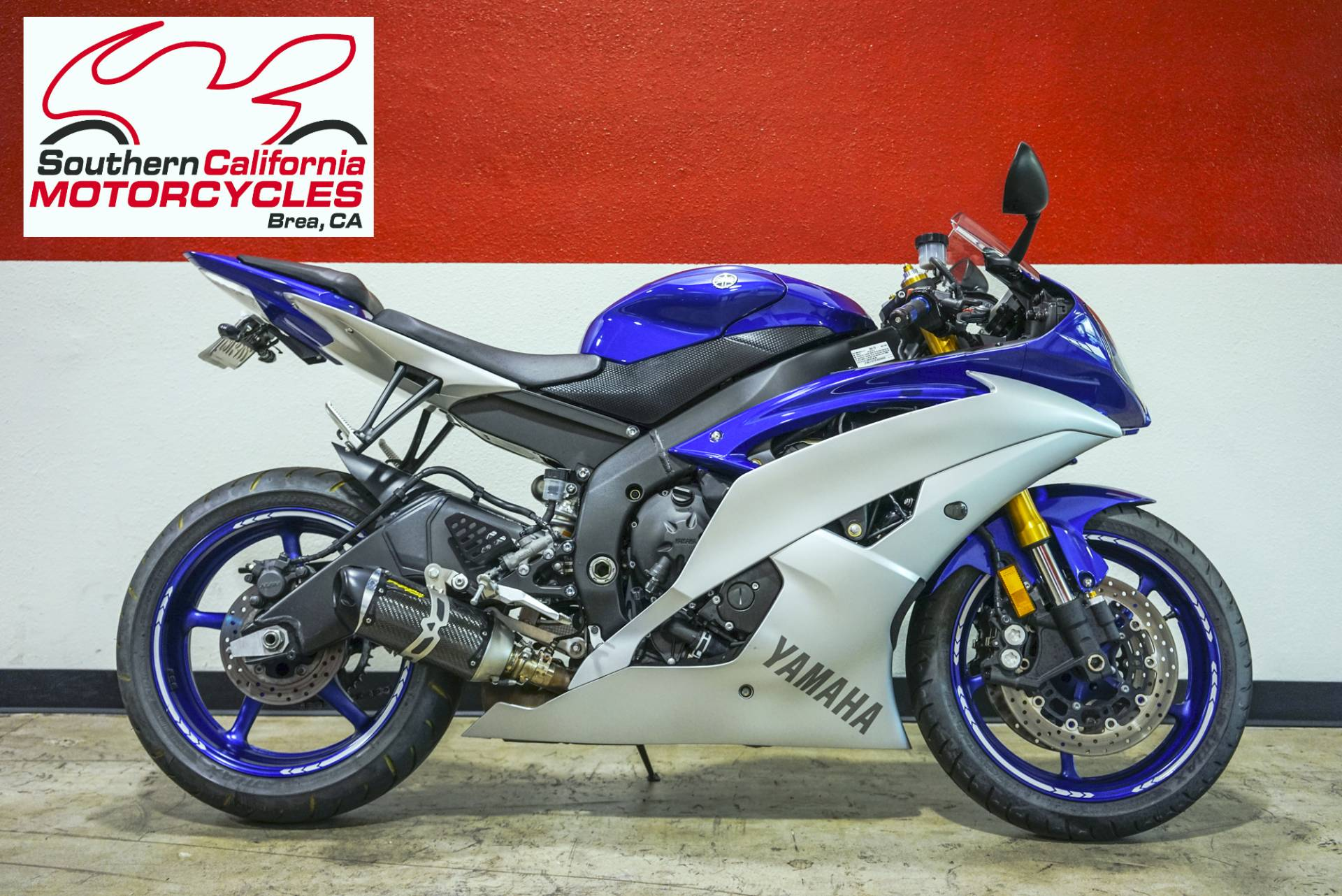 2015 Yamaha YZF-R6 in Brea, California - Photo 1
