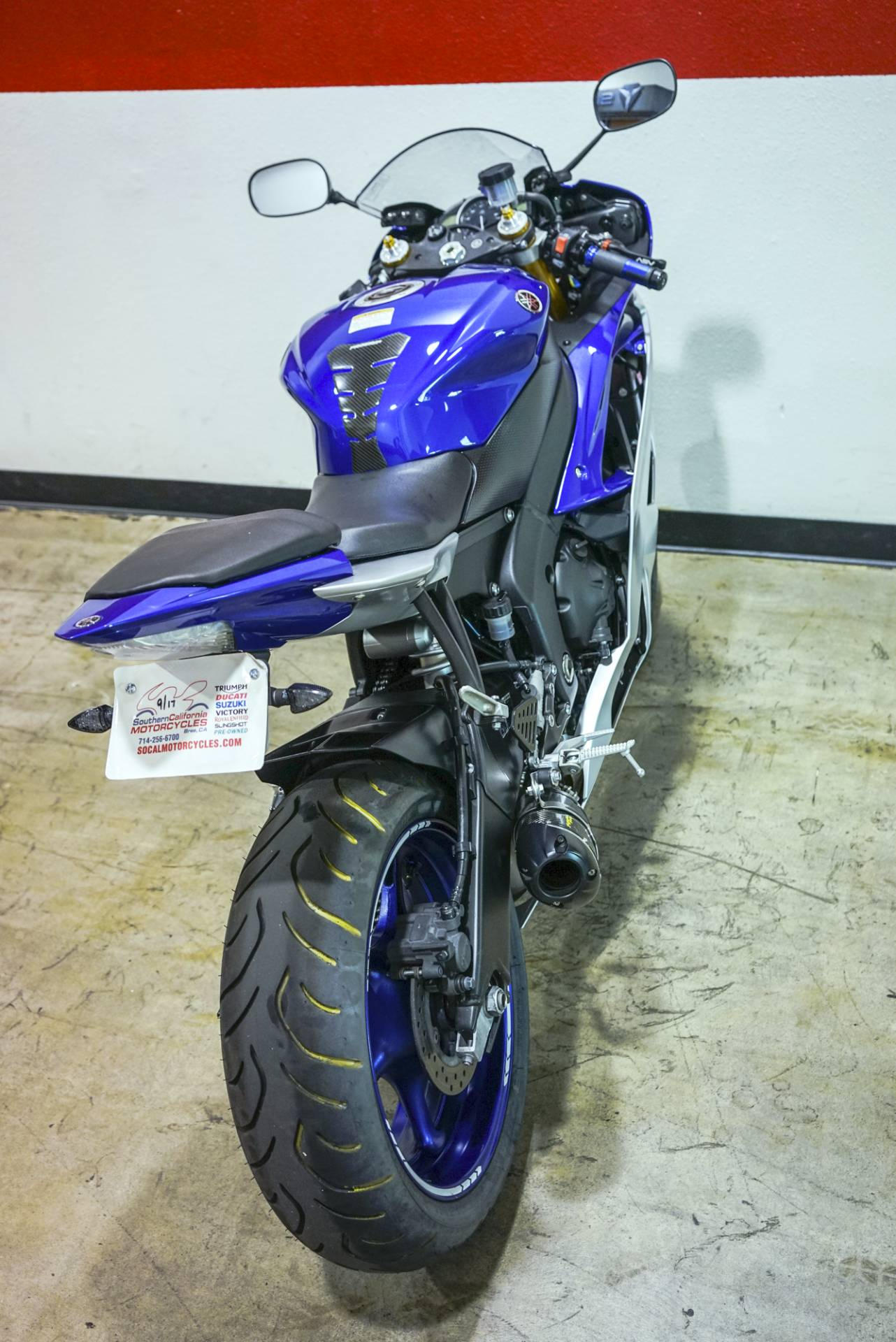 2015 Yamaha YZF-R6 in Brea, California - Photo 12