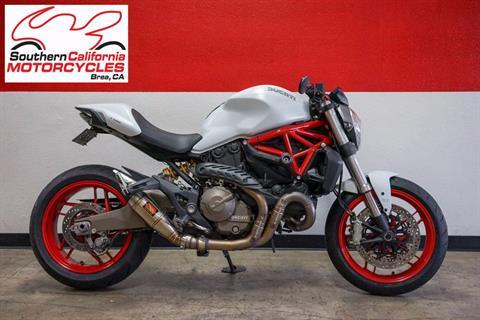 2015 Ducati Monster 821 in Brea, California