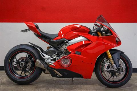 2018 Ducati Panigale V4 S in Brea, California