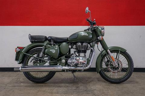 2018 Royal Enfield Classic Military ABS in Brea, California - Photo 1