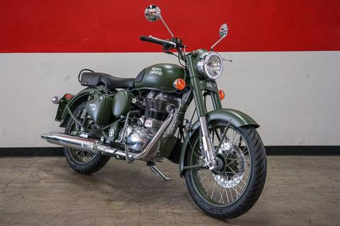 2018 Royal Enfield Classic Military ABS in Brea, California