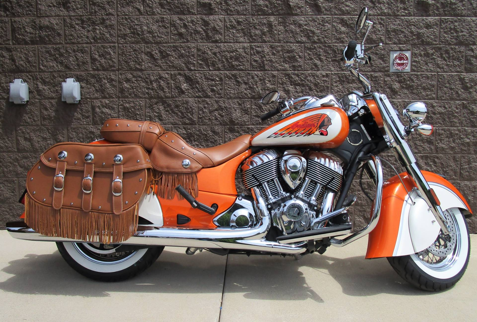 2019 Indian Chief® Vintage ABS in Elkhart, Indiana - Photo 1