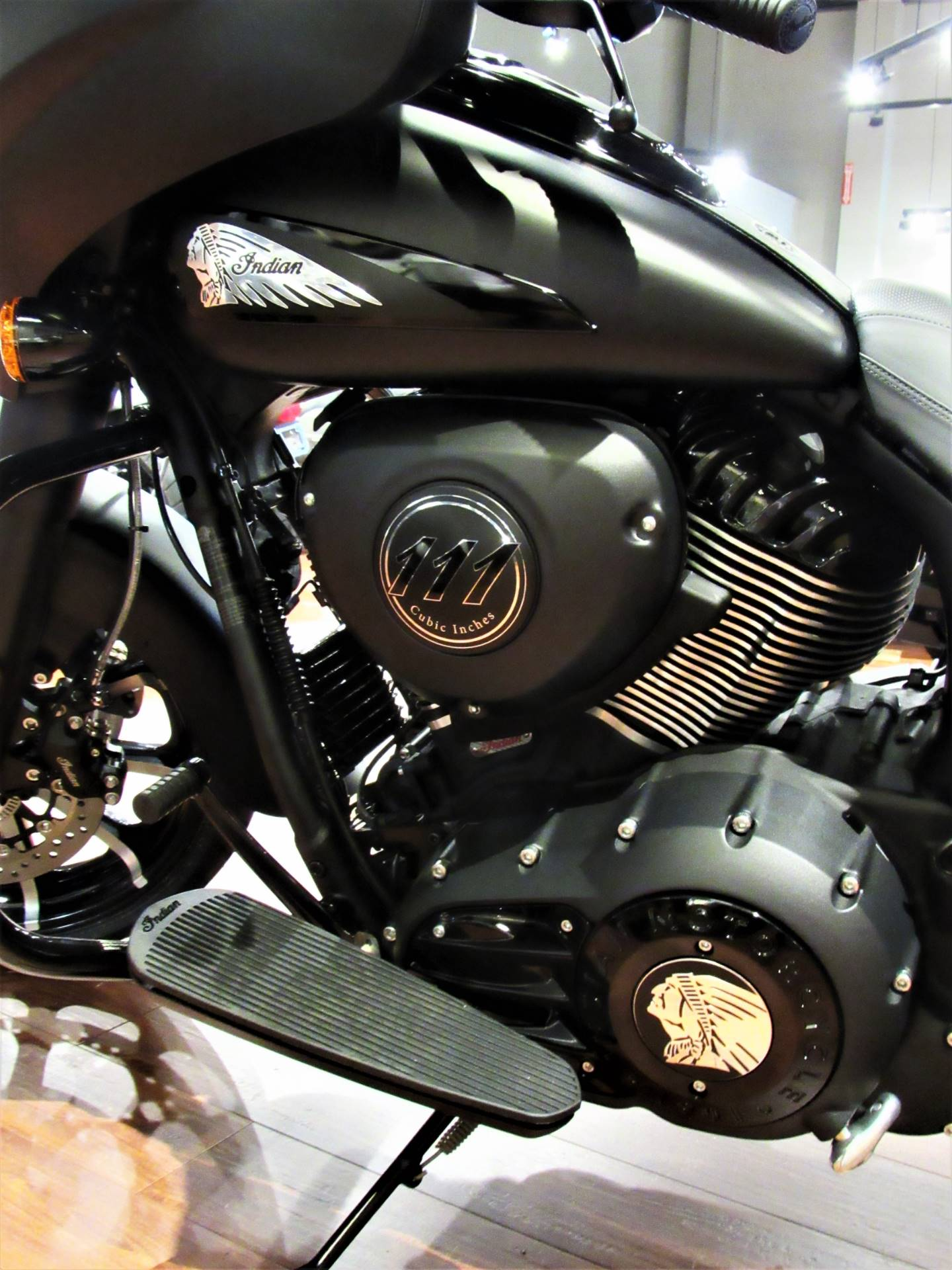 2019 Indian Chieftain® Dark Horse® ABS in Elkhart, Indiana - Photo 13