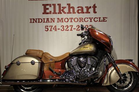 2019 Indian Chieftain® Classic Icon Series in Elkhart, Indiana