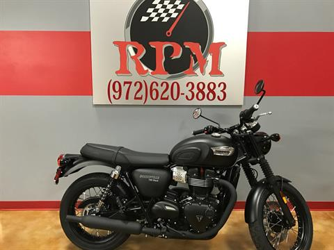 2017 Triumph Bonneville T100 Black in Dallas, Texas