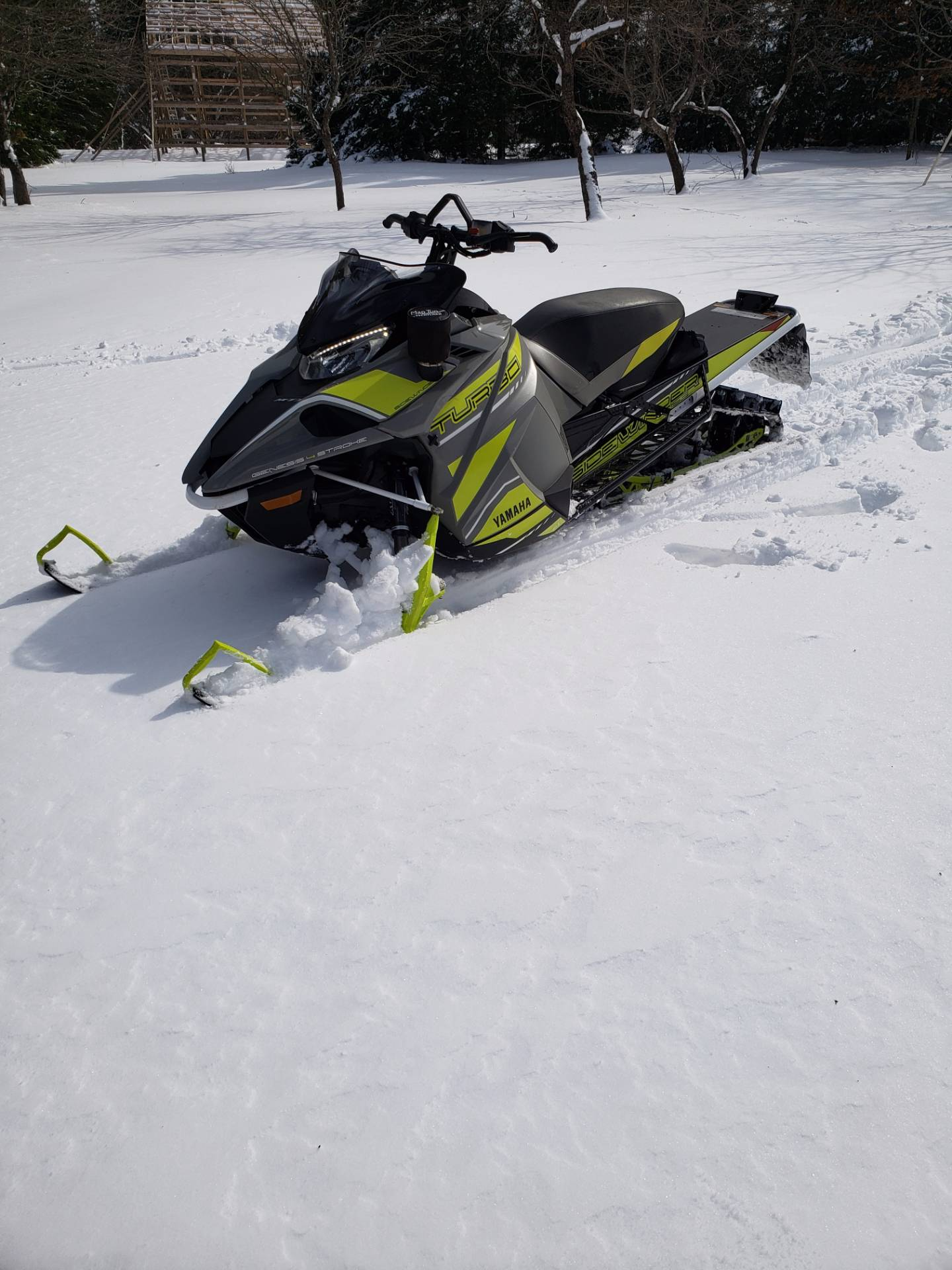 2018 Yamaha MTX SE 153 in Greenland, Michigan - Photo 3