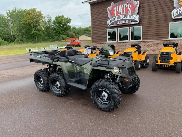 2019 Polaris Sportsman 6x6 Big Boss 570 EPS in Greenland, Michigan - Photo 2