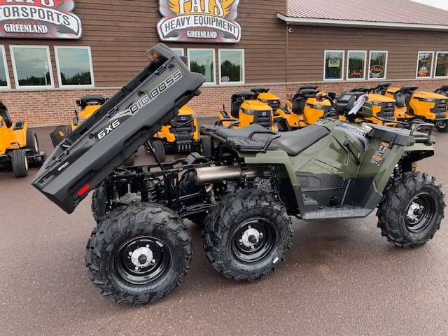 2019 Polaris Sportsman 6x6 Big Boss 570 EPS in Greenland, Michigan - Photo 8