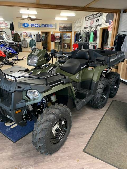 2021 Polaris Sportsman 6x6 570 in Greenland, Michigan - Photo 7