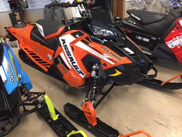 2019 Polaris 800 Switchback Assault 144 SnowCheck Select in Greenland, Michigan - Photo 1