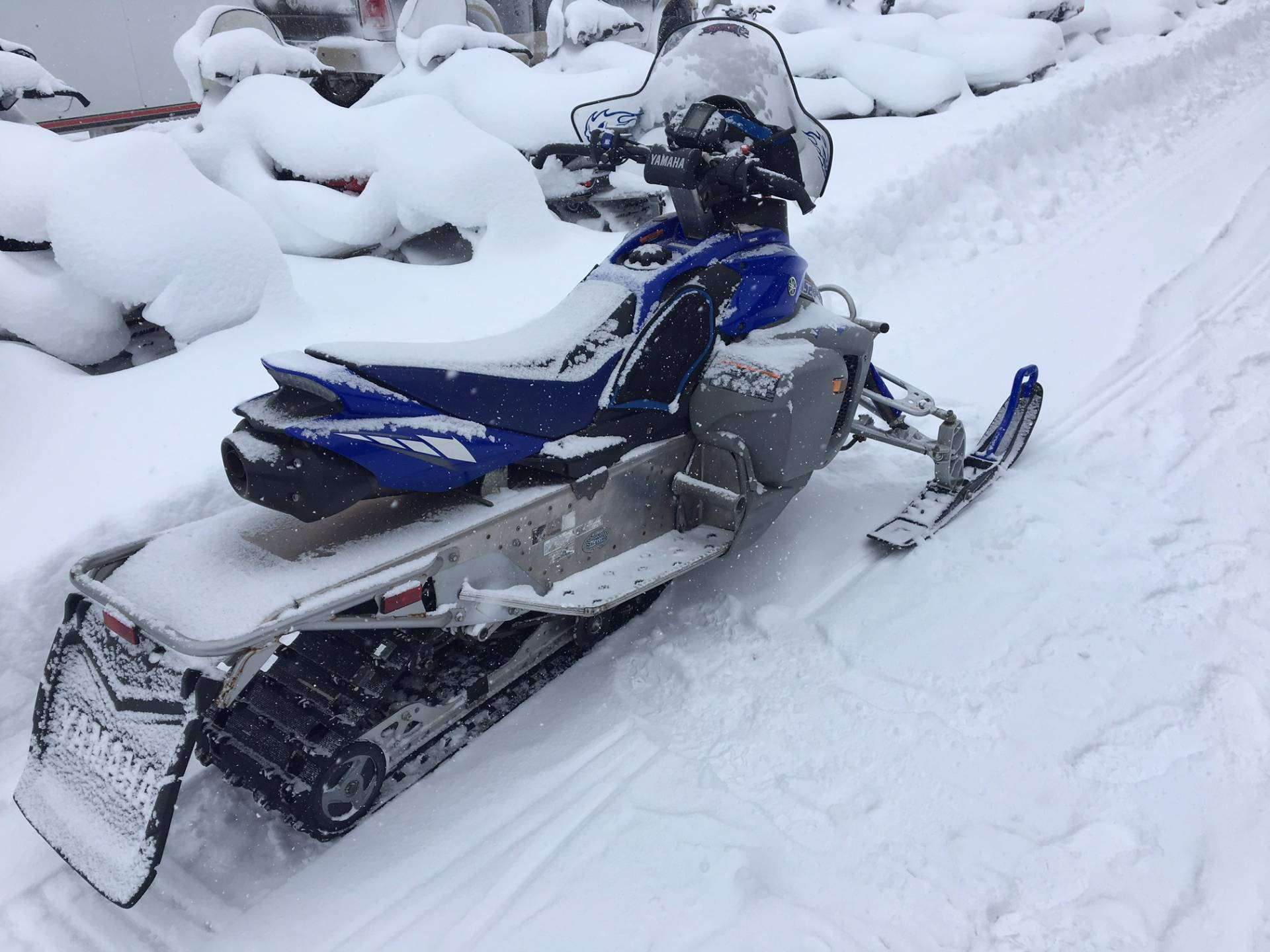 2008 Yamaha Phazer RTX In Greenland Michigan