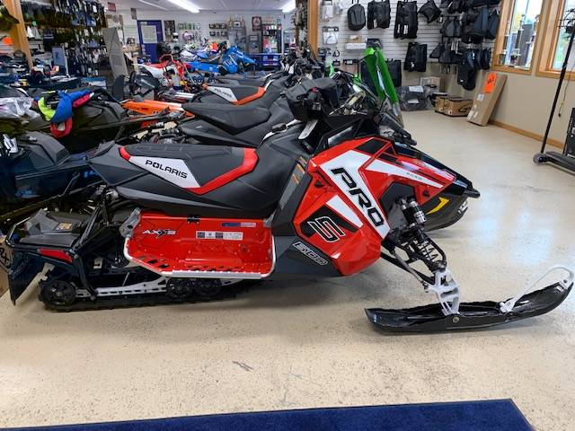 2019 Polaris 600 RUSH PRO-S 1.25 RIPSAW II SnowCheck Select in Greenland, Michigan - Photo 1