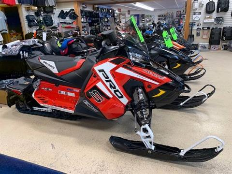 2019 Polaris 600 RUSH PRO-S 1.25 RIPSAW II SnowCheck Select in Greenland, Michigan - Photo 2