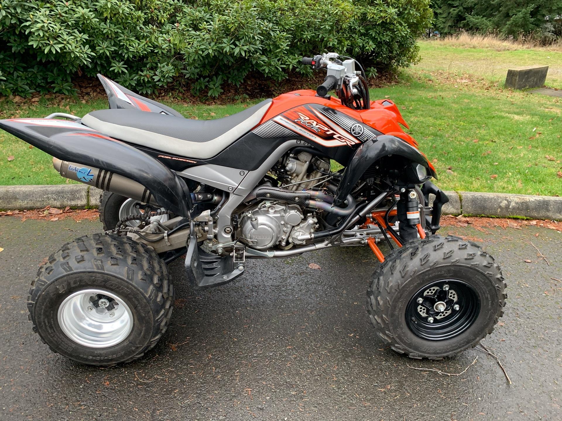2007 Yamaha Raptor 700R SE for sale 257542