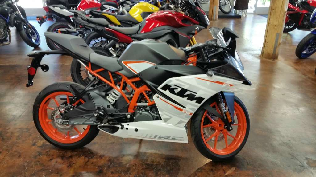 2015 KTM RC 390 in Olympia, Washington