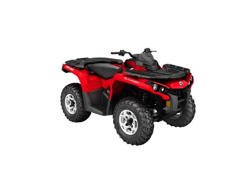 2016 Can-Am Outlander DPS 570 in Dearborn Heights, Michigan