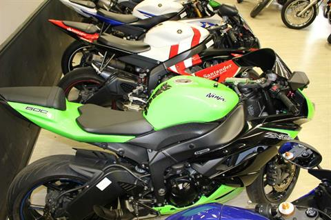 2012 Kawasaki Ninja® ZX™-6R in Dearborn Heights, Michigan