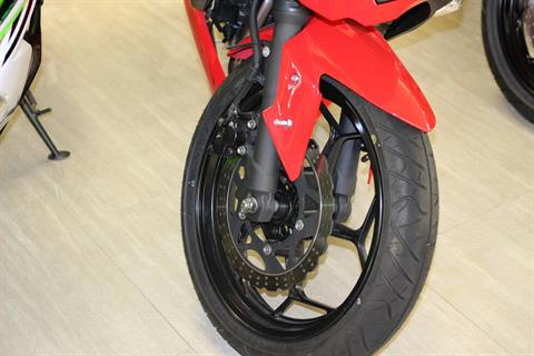 2016 Kawasaki Ninja 300 Passion Red in Dearborn Heights, Michigan
