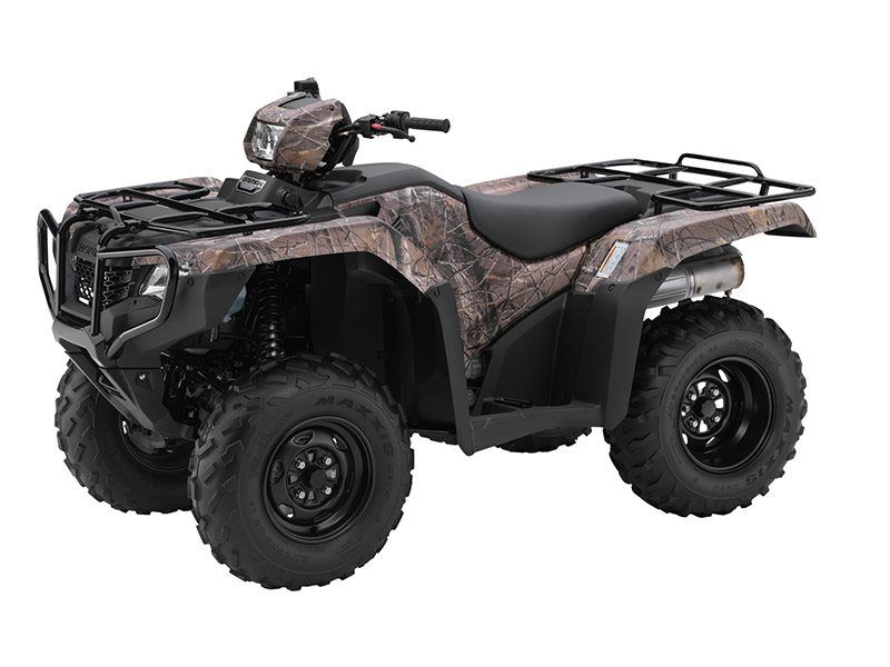 2016 Honda FourTrax Foreman 4x4 Camo (TRX500FM1) in Dearborn Heights, Michigan
