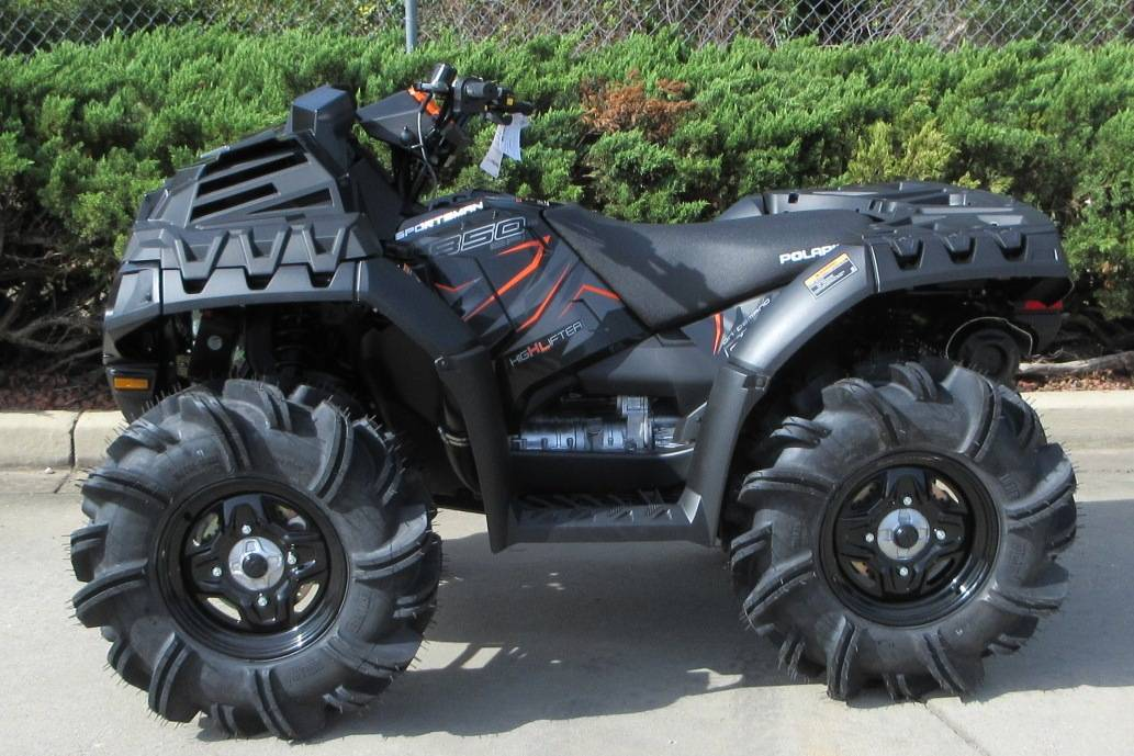2019 Polaris Sportsman 850 High Lifter Edition 2