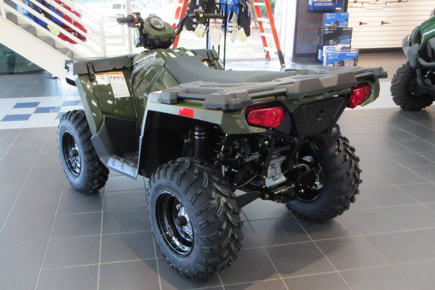 2017 Polaris Sportsman 450 H.O. in Sumter, South Carolina