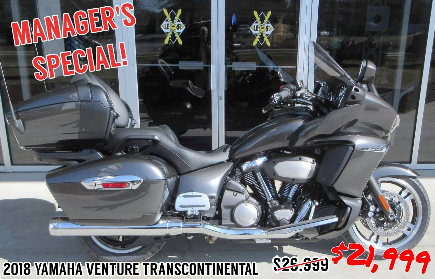 2018 Yamaha Star Venture with Transcontinental Option Package in Sumter, South Carolina - Photo 1