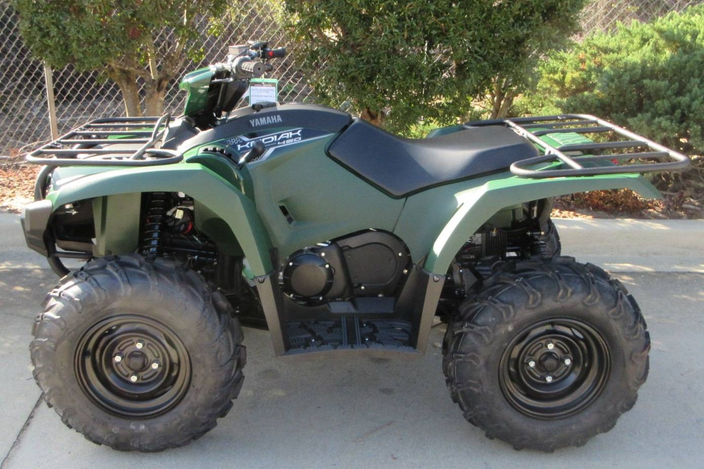 2018 Yamaha Kodiak 450 EPS in Sumter, South Carolina