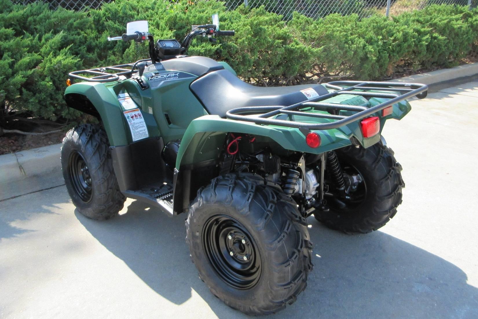 2019 Yamaha Kodiak 450 6