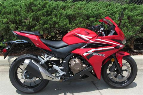 2016 Honda CBR500R in Sumter, South Carolina