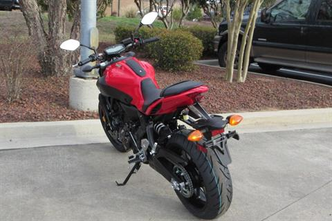 2017 Yamaha FZ-07 ABS in Sumter, South Carolina