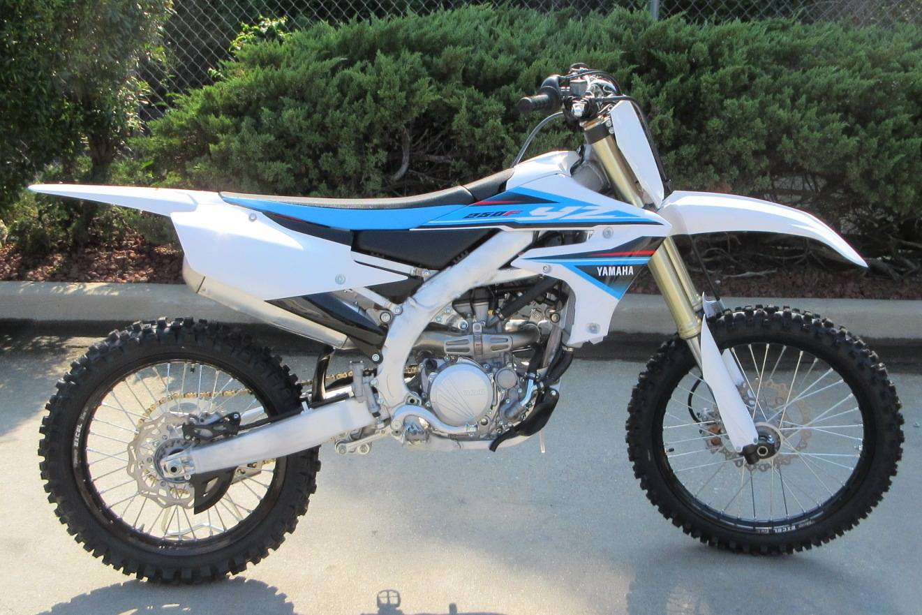 new 2019 yamaha yz250f motorcycles in sumter sc n a white. Black Bedroom Furniture Sets. Home Design Ideas