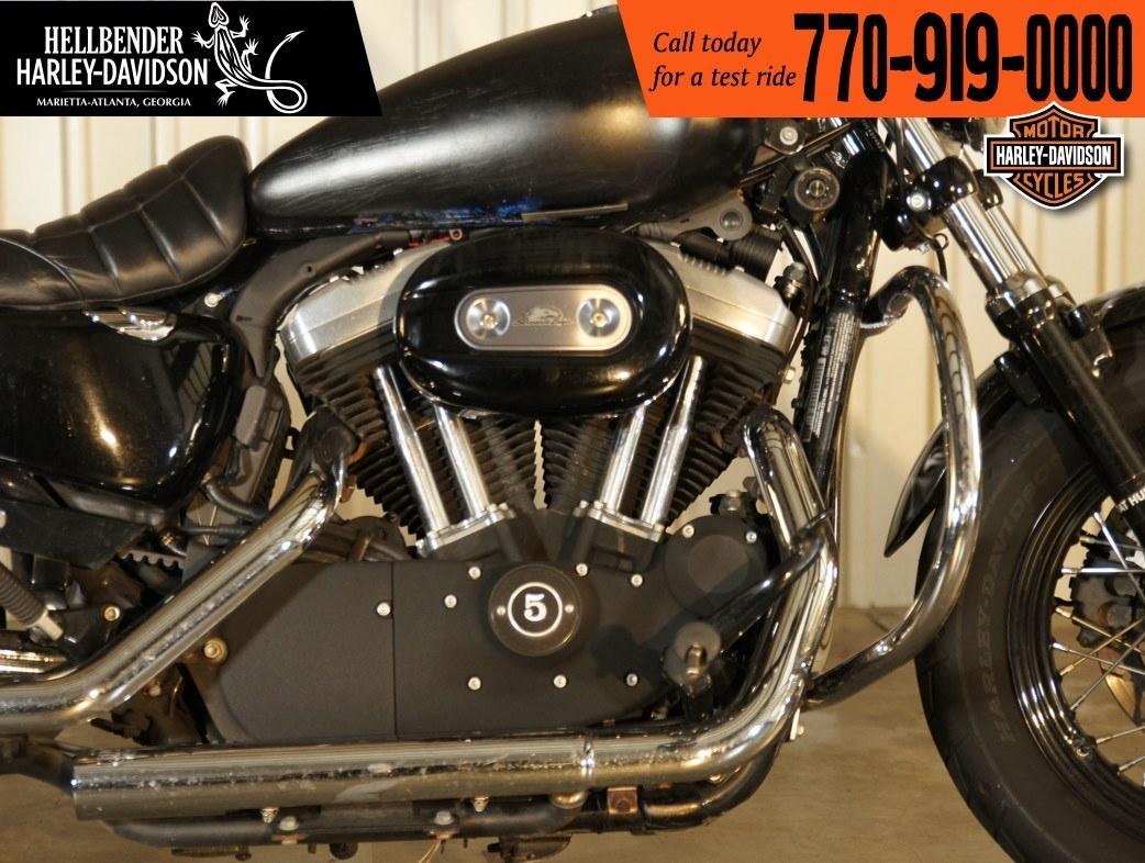 Used 2013 Harley Davidson Sportster Forty Eight Vivid Black Motorcycles In Marietta Ga U439452