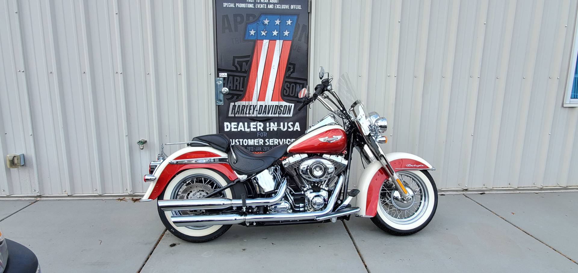 2013 Harley-Davidson Softail® Deluxe in Clarksville, Tennessee