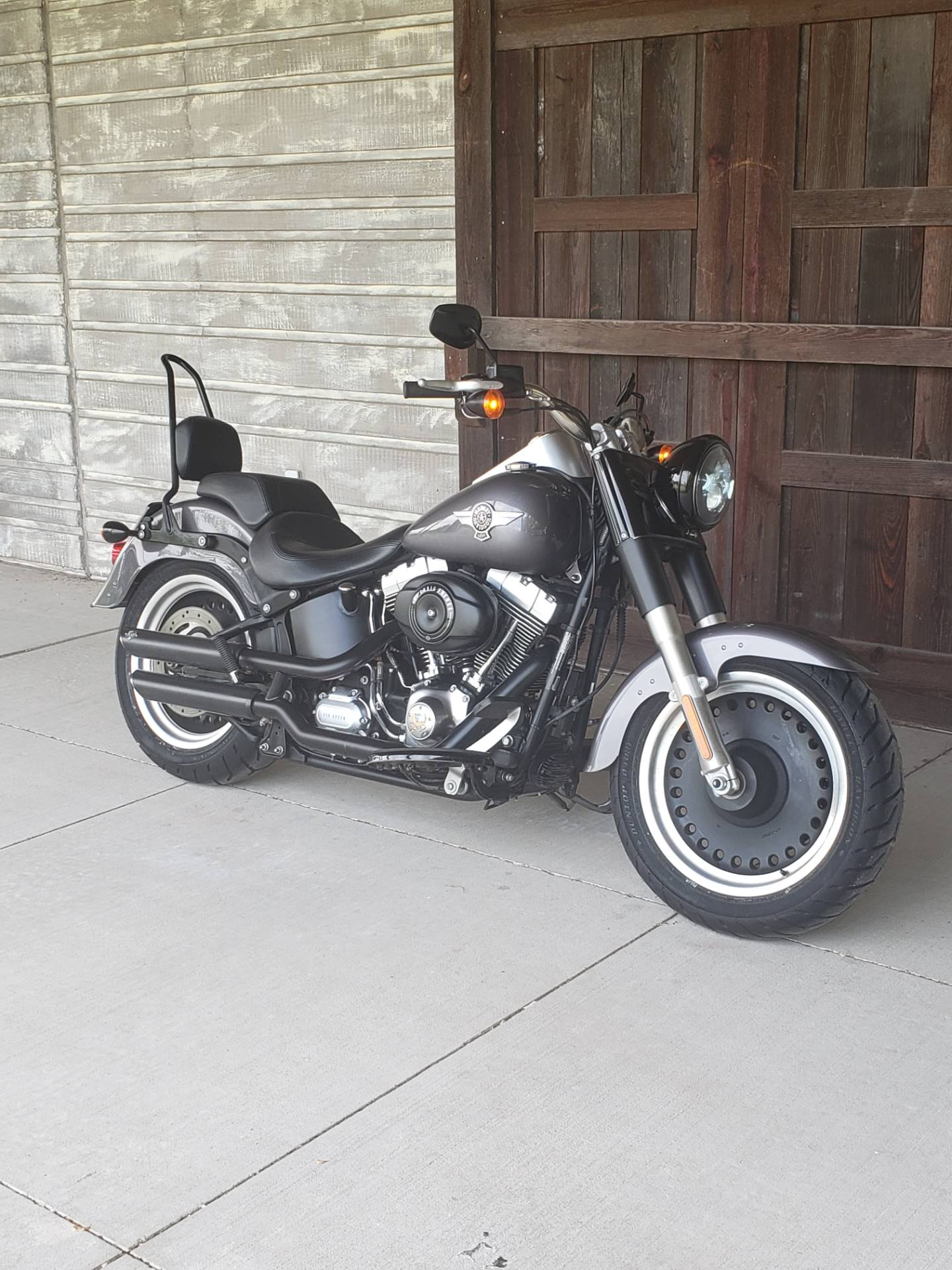 2015 Harley-Davidson Fat Boy® Lo in Kingwood, Texas - Photo 2